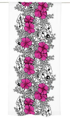 Vallila. Elle-valmisverho. Design: Marjatta Metsovaara (1927-2014).