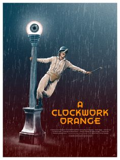 A Clockwork Orange by Adam Rabalais ... #Movies #Film #MoviePosters #Posters #MovieArt #Art #Design