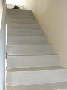 Comment Realiser Un Escalier En Beton Cire En Renovation