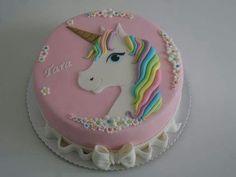 #geburtstagskuchenkinder Diy Unicorn Cake, Unicorn Cake Pops, Unicorn Party, Pear And Almond Cake, Almond Cakes, Bolo Laura, Decors Pate A Sucre, Salty Cake, Diy Cake