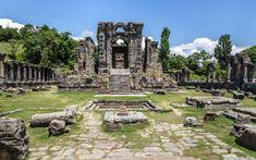 Ruins of Martand Sun Temple, india