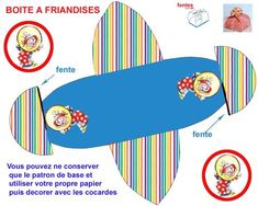 boite_a_friandises_cirque Printable Box, Free Printables, Halloween Circus, Clowning Around, Free Boxes, Gift Bags, Beach Mat, Carnival, Outdoor Blanket