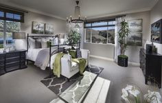 Pradera. Master Bedroom. Everything's Included. Residence 4. New Homes. Escondido. California. Now Open. Real Estate.