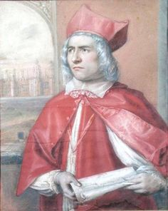 Portrait of a young Thomas Wolsey (c.1475-1530)