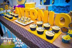 Minion Themed Birthday Party {Planning, Ideas, Decor, Cake, Idea}