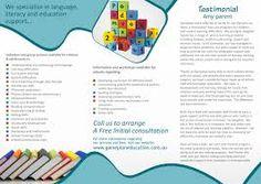 Image result for educational brochure design inspiration   Big ...