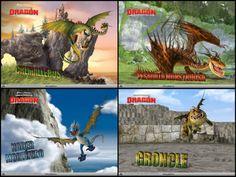 Como entrenar a tu dragón dragones
