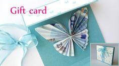 DIY crafts: GIFT CARD Money Holder (butterfly) - Innova Crafts