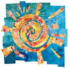 Sun Dance: Catherine Kleeman: Art Quilt - Artful Home