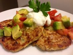 Mexican Quinoa Cakes with Avocado Tomato Salsa & Lime Cream — Got Room for What Is Quinoa, How To Cook Quinoa, Easy Cooking, Cooking Recipes, Healthy Recipes, Quinoa Benefits, Quinoa Cake, Lime Cream, Mexican Quinoa