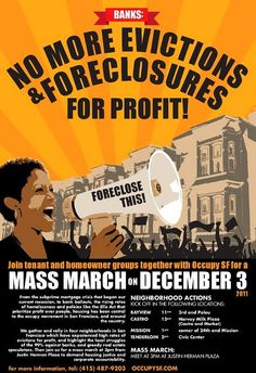 Occupy Movement Supporters Consider Eminent Domain as a Tool to Help Homeowners in Foreclosure