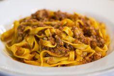 Tagliatella al ragù, Da Amerigo, Chef Alberto Bettini, Savigno, Bologna