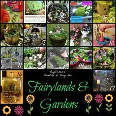 Fairy lands and gardens