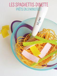 Les spaghettis dinette !