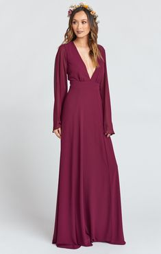 c4f581454f5d 8 Best Bridesmaid Dresses - Long Sleeve images | Bridesmaids, Bride ...