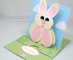 Card à la Carte: Easter bunny