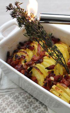 Tian de pommes de terre aux lardons Macaroni And Cheese, Ethnic Recipes, Food, Veggie Bake, Eat, Cooking Recipes, Mac And Cheese, Essen, Meals