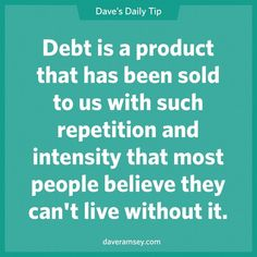 Scary insight from Dave Ramsey