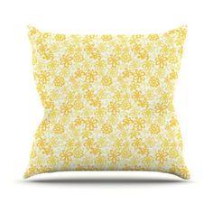 23 x 23 Square Floor Pillow Kess InHouse Project M Rainbow Specs
