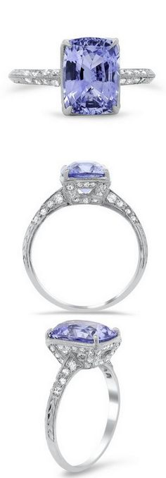 Platinum Bellerose Ring