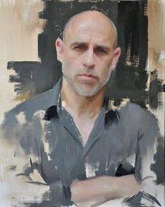 Auto portrait d'Aldo Balding, plus vrai que nature !