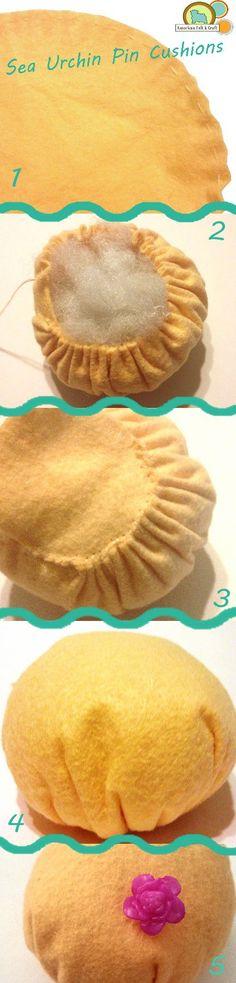Easy Sea Urchin Pincushion