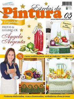 Artesanato - Pintura : ESTRELAS DA PINTURA 003 - Editora Minuano