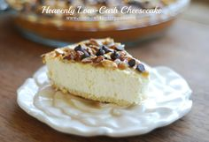 Heavenly Low-Carb Cheesecake- THM S, Low Carb, No Sugar, Gluten Free...this is off the hook!