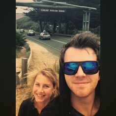 Great Ocean Road trip with Miss  #german #australian #roadtrip #travel #greatoceanroad #tourists #selfie #landmark #seeaustralia #shipwreckcoast by jessemitchell24