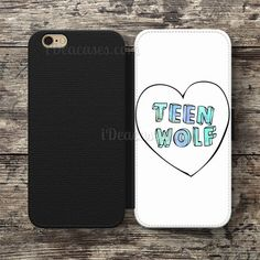 Teen Wolf Wallet Case For iPhone 6S Plus 5S SE 5C 4S case, Samsung Galaxy S3 S4 S5 S6 Edge S7 Edge Note 3 4 5 Cases
