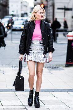 FWAH2016 Street looks à la fashion week automne-hiver 2016-2017 de Londres