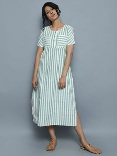 The Loom- An online Shop for Exclusive Handcrafted products comprising of Apparel, Sarees, Jewelry, Footwears & Home decor. Simple Kurtis, Cotton Tunics, Stripe Dress, Western Wear, Salwar Kameez, Indian Fashion, Loom, Ethnic, Short Sleeve Dresses