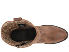 Dingo Wrigley Cowboy Boots Tan