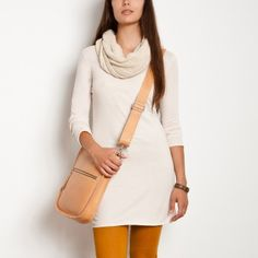 Roots Essential Tunic Tee: classic look with boots and tights (I've already got mustard in my collection). Would pair this with a brightly coloured scarf. Summer Sale, Classic Looks, Roots, Tights, Tee Shirts, Tunic, Pairs, My Style, 100 Free