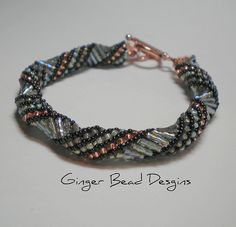 Bugle Bead Russian Spiral | Flickr - Photo Sharing!