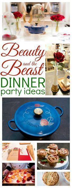 Beauty and the Beast Dinner Party Ideas - Raising Whasians