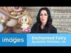Enchanted Fairy by Jackie Ochitwa, CBA Balloon Display, Balloon Decorations, Balloon Ideas, Craft Party, Diy Party, Baloon Art, Balloon Face, Princess Balloons, Qualatex Balloons