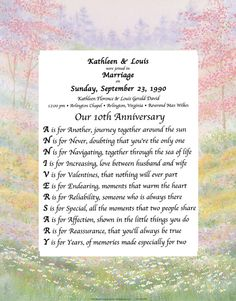 Personalized Wedding Gifts, First Anniversary Gifts - Birthday Keepsakes
