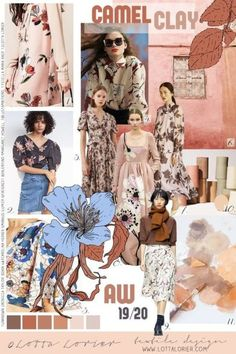 Fashion Portfolio Layout, Fashion Design Sketchbook, Fashion Sketches, Mood Board Fashion, Fashion Boards, What Is Fashion, Fashion Forecasting, Fashion Collage, 2020 Fashion Trends