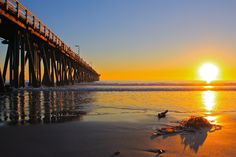 Sunset from the Port Hueneme Pier