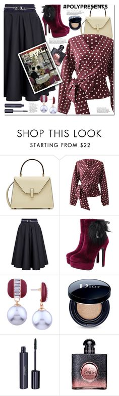 """#PolyPresents: Dream Vacation"" by duma-duma ❤ liked on Polyvore featuring Valextra, HIGH, Christian Dior, Dr.Hauschka, contestentry and polyPresents"