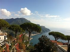 The gorgeous Amalfi Coast...Positano and Serrento - Someday Ken and I will stay in one of this beautiful cliffside hotels.