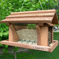 Bird House Kits Make Great Bird Houses Suet Bird Feeder, Squirrel Proof Bird Feeders, Best Bird Feeders, Garden Bird Feeders, Bird Feeder Plans, Bird House Feeder, Hanging Bird Feeders, Bird House Plans, Bird House Kits