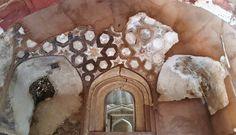 The magnificent ceilings at Agra Fort in India. katiesargentdesign.com Interior Design Studio, Interior Design Services, Agra Fort, Ceilings, Oriental, India, Travel, Nest Design, Goa India