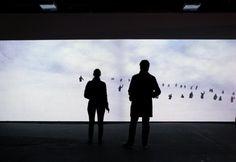 Ghost, una instalación creada por Thomas Eberwein / Thomas Traum yTim Gfrerer.