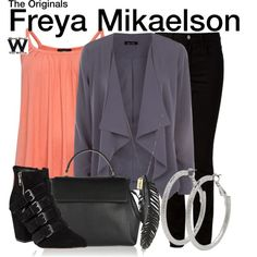 Inspired by Riley Voelkel as Freya Mikaelson on The Originals.