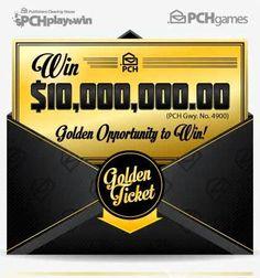Win PCH $10,000,000.00