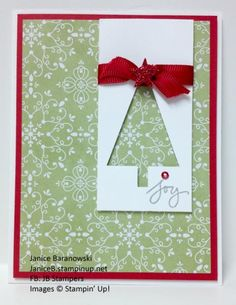 Enhanced Christmas by stampingdietitian - Cards and Paper Crafts at Splitcoaststampers
