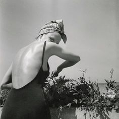 Jacques Henri Lartigue | Coco on the terrace, Neuilly | 1938