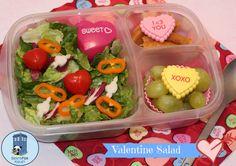 Bento for Kidlet: #Valentine #Salad #Easylunchboxes